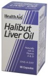 HealthAid Halibut Liver Oil Capsules Pack of 90