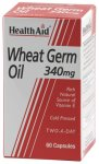 HealthAid Wheat Germ Oil 340mg Capsules Pack of 60
