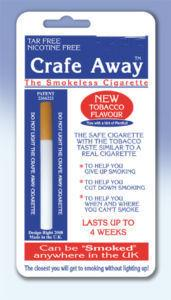 Crafe Away Imitation Cigarette with Menthol