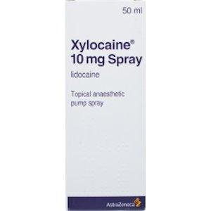 Xylocaine 10mg Anaesthetic Spray