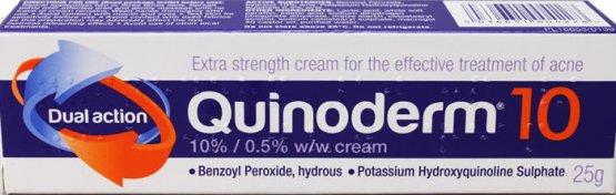 Quinoderm Cream 10% 25g