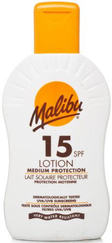 Malibu Sun Lotion SPF15 200ml