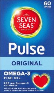Seven Seas Pulse Omega 3 Capsules Pack of 60