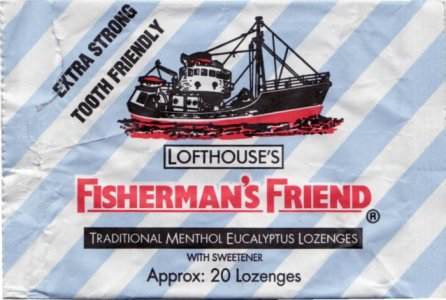 Fisherman's Friend Menthol Eucalyptus Lozenges 25g