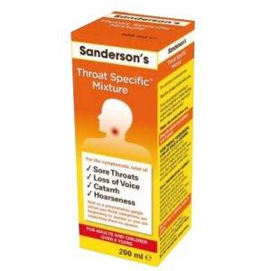 Sanderson's Throat Specific Mixture 200ml