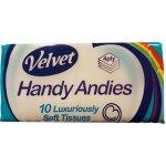 Handy Andies Tissues Pack of 10