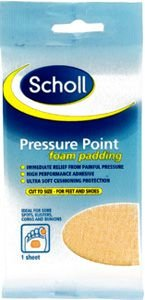Scholl Appliances Pressure Point Foam Padding
