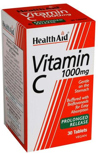 HealthAid Vitamin C 1000mg Tablets Pack of 30