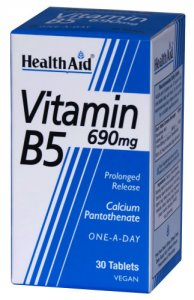 HealthAid Vitamin B5 690mg Tablets Pack of 30