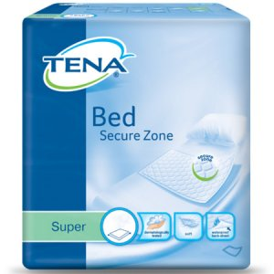 TENA Bed Secure Zone Pad 60cm x 60cm Super Pack of 30