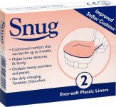 Snug Denture Cushion Twin Pack