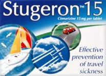 Stugeron Travel Tablets Pack of 15