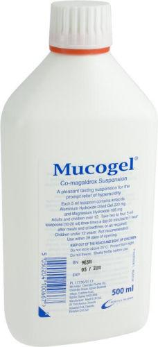 Mucogel Suspension 500ml