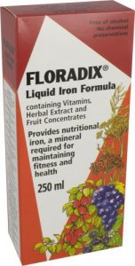 Floradix Formula Herbal Iron Extract 250ml