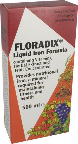 Floradix Formula Herbal Iron Extract 500ml