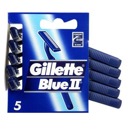 Gillette Blue II Fixed Razors Pack of 5