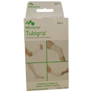 Tubigrip Natural Colour Size D 7.5cm x 0.5m