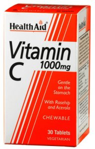HealthAid Vitamin C 1000mg Chewable Tablets Pack of 30