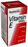 HealthAid Vitamin E 1000iu Capsules Pack of 60