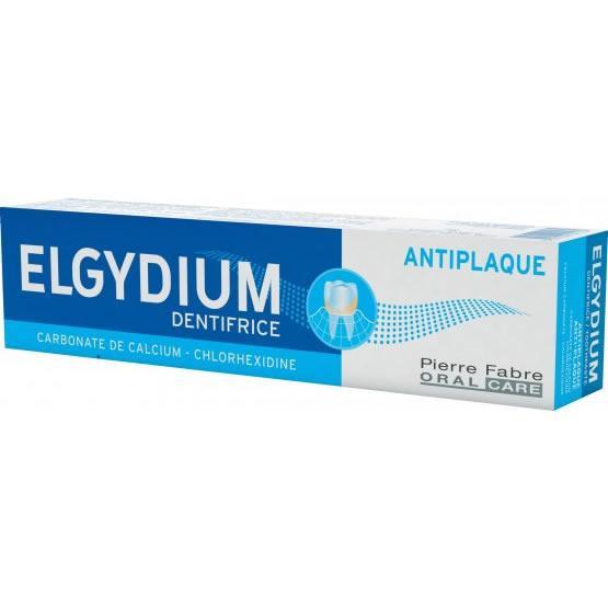 Elgydium Anti Plaque Toothpaste 75ml Pack of 3