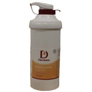 Diprobase Cream Base Pump Dispenser 500g