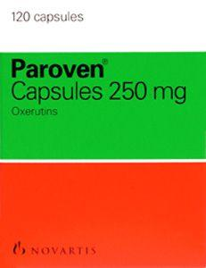 Paroven 250mg Capsules Pack of 120
