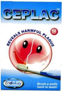 Ceplac Dental Disclosing Tablets Pack of 12