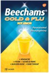 Beechams Cold & Flu Hot Lemon Pack of 10