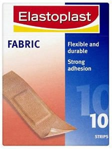 Elastoplast Fabric Plasters Pack of 10