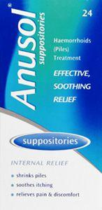 Anusol Suppositories Pack of 24