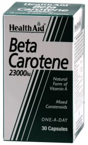 HealthAid Beta Carotene 2300iu Capsules Pack of 30