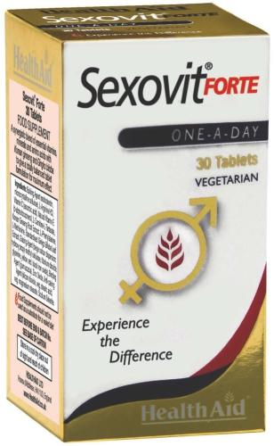 HealthAid Sexovit Forte Tablets Pack of 30