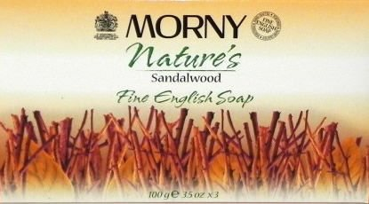 Morny Nature's Sandalwood Soap 100g Pack of 3