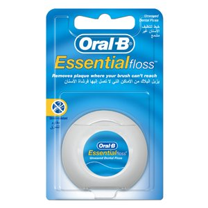 Oral B Essential Floss Unwaxed