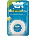 Oral B Essential Waxed Mint Flavoured Dental Floss
