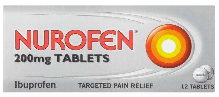 Nurofen 200mg Tablets Pack of 12