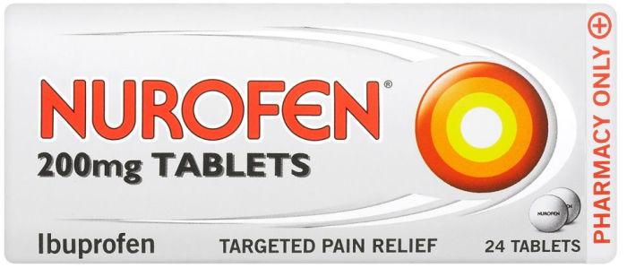 Nurofen 200mg Tablets Pack of 24