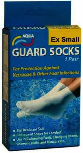 Aqua Guard Socks 9 -12 ex small