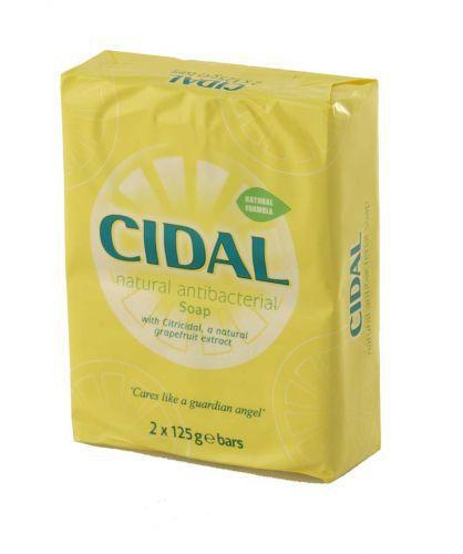 Cidal Soap 125g Pack of 2