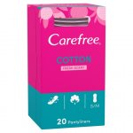 Carefree Normal Pantyliners Cotton Fresh Scent Pack of 20