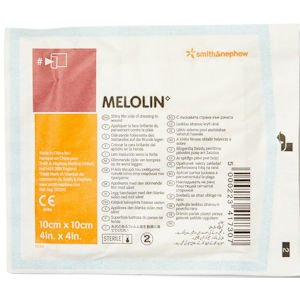 Melolin  Low Adherent Absorbent Dressing 10cm x 10cm