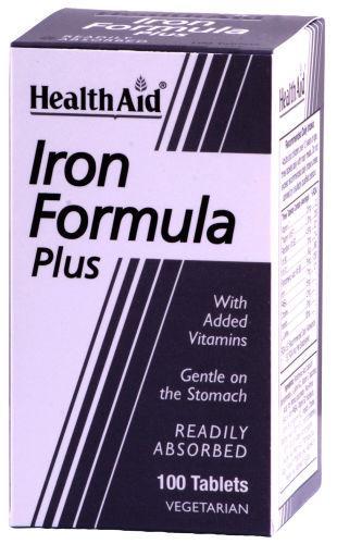 HealthAid Iron Formula Plus Tablets Pack of 100
