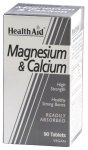HealthAid Magnesium & Calcium Tablets Pack of 90