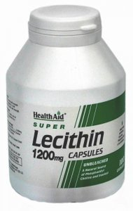 HealthAid Lecithin 1200mg Capsules Pack of 100