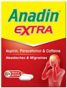 Anadin Extra Caplets Pack of 12