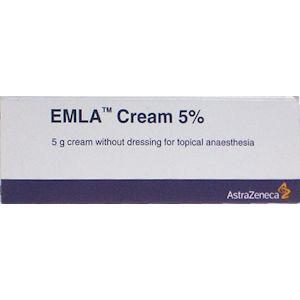 Emla Cream Without Dressing Dispensing Pack 5g