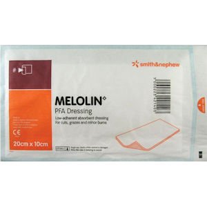 Melolin Low Adherent Absorbent Dressing 10cm x 20cm