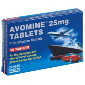 Avomine Tablets 25mg Pack of 28
