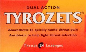 Tyrozets Lozenges Pack of 24