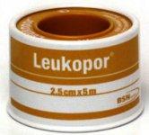 Leukopor Non-woven Surgical  Tape  2.5cm x 5m